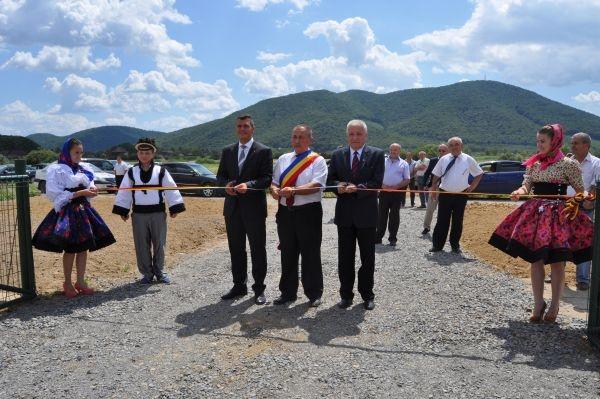 Inaugurare staţie de epurare la Călineşti Oaş