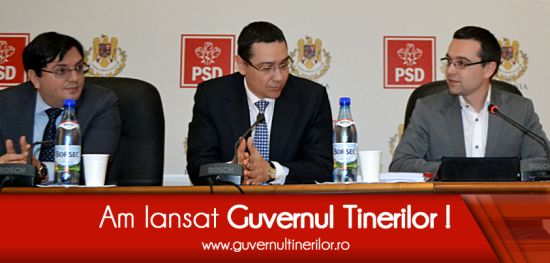 """Tinerii valoroși din România sunt așteptați în """"Guvernul Tinerilor"""""""