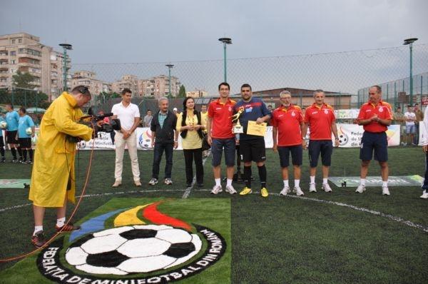 Minifotbal:Juventus Sibiu e campioana României
