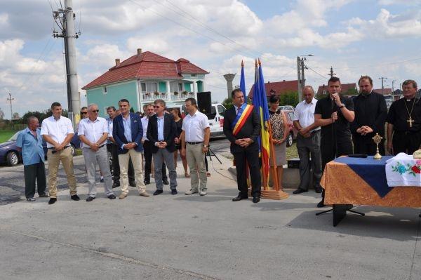 Inaugurare drum de legătura cu judeţul Maramureş