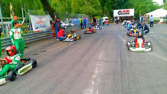 Karting:a V-a etapă de Campionat