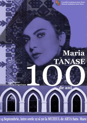Reîntâlnire cu Maria Tănase la Muzeul de Artă Satu Mare