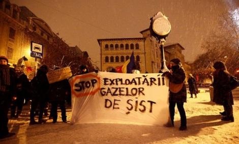 Solidaritate împotriva gazelor de șist în Bihor
