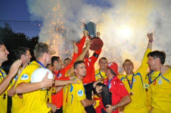 România merge la Campionatul European de  Minifotbal