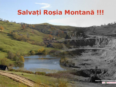 Roşia Montană intră în istorie drept cea mai mare ţeapă