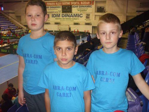 Tenis de masă: locul 6 la naţionale pentru băieţii lui Mircea