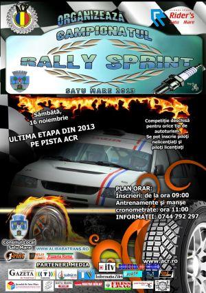 O nouă rundă Rally Sprint
