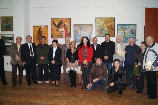 Lucrări valoroase cotate pe plan național expuse la Satu Mare