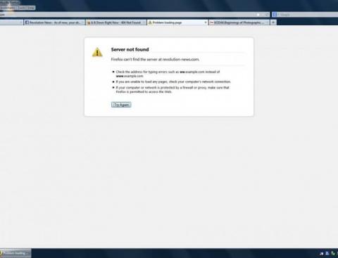 Pungeştiul este cenzurat pe internet!Revolution-News.com nu poate fi accesat de clienții RDS