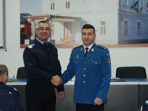 Tineri absolvenţi la Jandarmeria Satu Mare