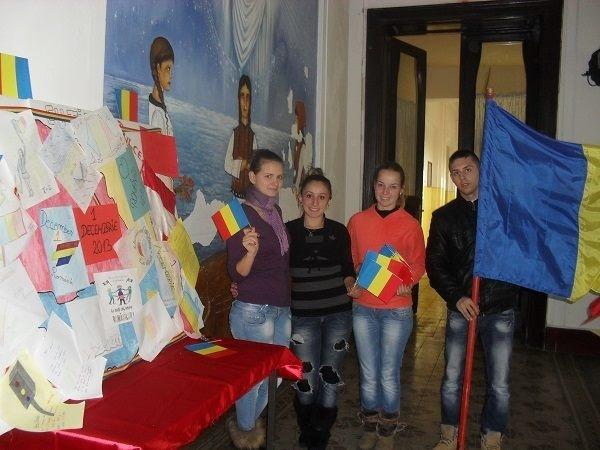 """Ziua  Națională sărbătorită  la CT """"Iuliu Maniu"""""""