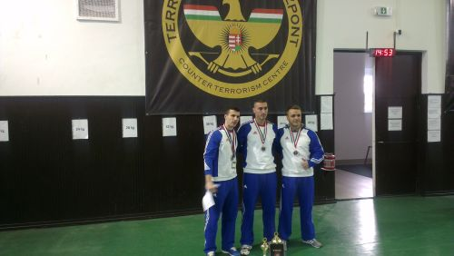 Argint pentru luptătorii sătmăreni de la Serviciului de Acţiuni Speciale la concursul din Ungaria