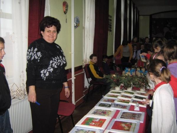 """Târg de Crăciun la Şcoala """"Vasile Lucaciu""""  din Carei"""
