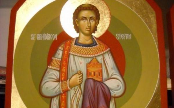 """Sfântul Ştefan cel """"plin de duh sfânt şi înţelepciune"""""""