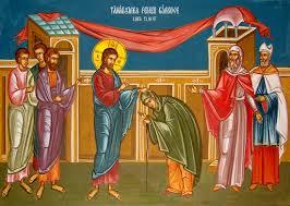 Duminica 27-a după Rusalii – Tămăduirea femeii gârbove