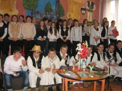 Eminescu  și  Unirea  – La  Școala Gimnazială nr. 3  Carei