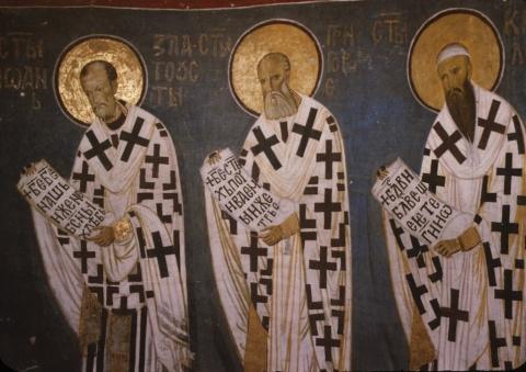 Sfinţii Trei Ierarhi: Vasile, Grigorie şi Ioan