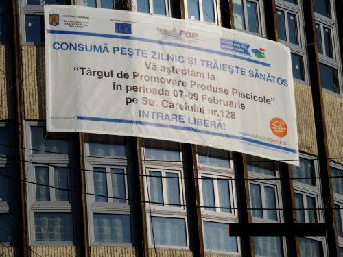 Târg de promovare a produselor  piscicole la Satu-Mare