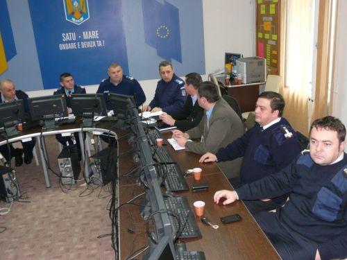 Jandarmeria Română solidară acţiunii ,,Ora Pământului''