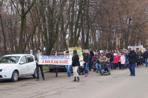 Marș  dedicat Zilei Internaționale a Bolilor Rare