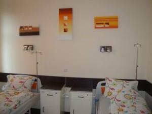 Salon VIP la secția Ginecologie de la  Spitalul Județean