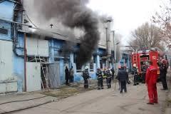 Incendiu la Sarmex Satu Mare