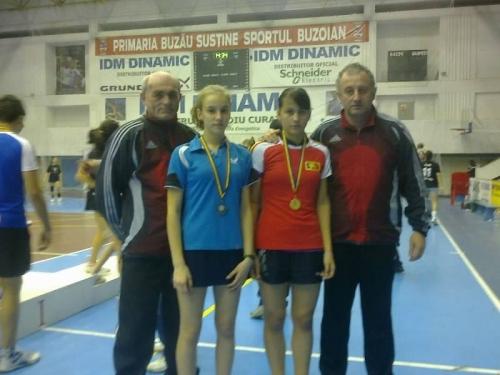 Careieni contra careieni la Finala Campionatului  Național de tenis de masă de la Buzău