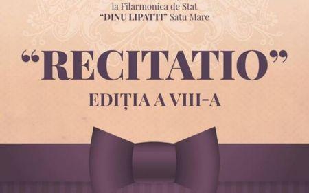 RECITATIO,la a VIII-a ediţie