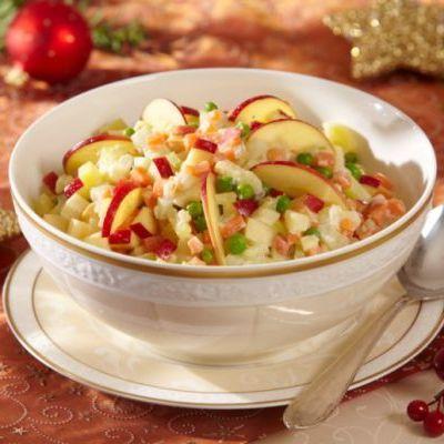 Salata de cartofi cu mere