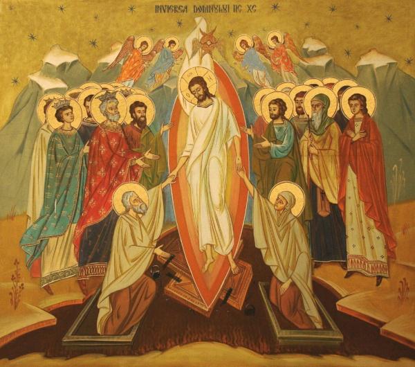 Învierea Domnului, întemeierea creştinătăţii