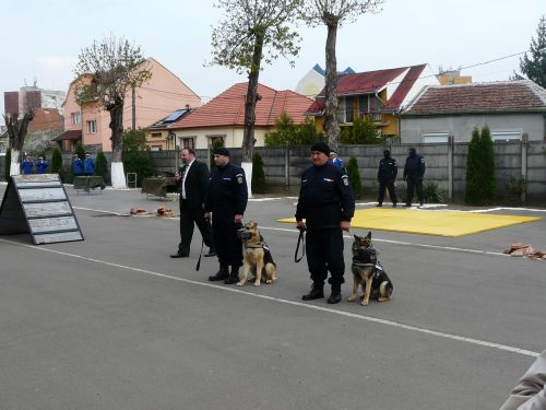Moment aniversar la Jandarmerie