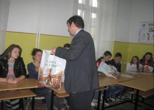 """Lecţie de antreprenoriat la Colegiul Tehnic """"Iuliu Maniu"""" Carei"""