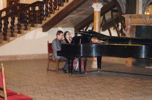 Concert de pian la Castel