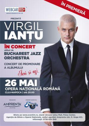 Concertul lui Virgil Ianțu  se apropie de SOLD OUT