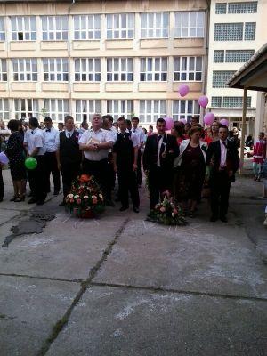 """Promoţia 2014 a Liceului  Tehnologic """"Simion Bărnuțiu"""" Carei"""