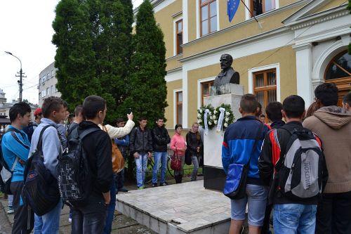 Comemorarea lui Simion Bărnuţiu la Carei