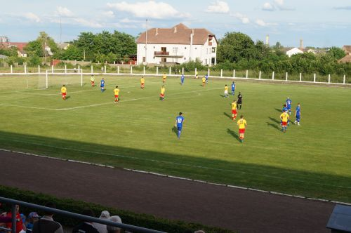 Meci din Cupa României pe stadionul Victoria Carei