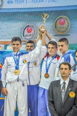 Ploaie de medalii pentru CSM Satu Mare la Campionatul European de Karate