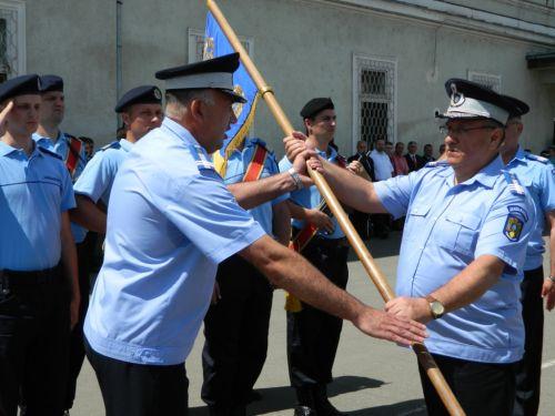 Ceremonie militara  la Inspectoratul Judeţean de Jandarmi  Satu Mare