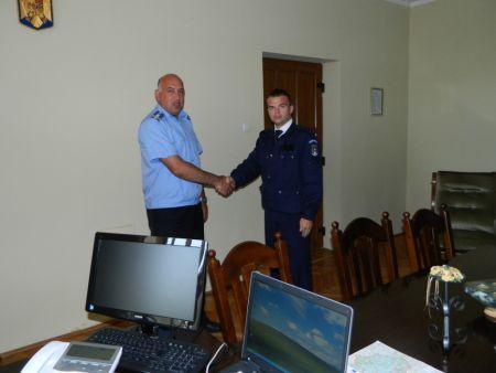 Stagiu de  practică la Jandarmeria Satu Mare