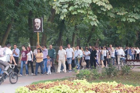 Se întâmplă în România: aniversare cu bustul mobil la Carei
