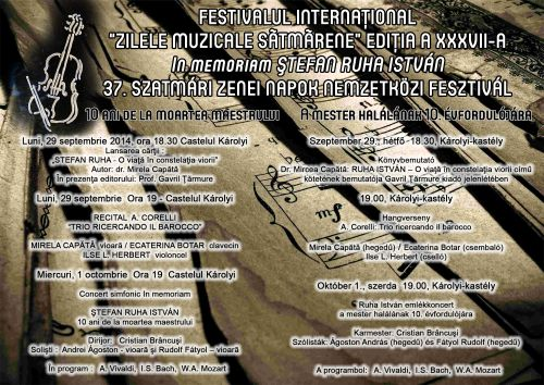 Evenimente organizate in memoria lui Stefan Ruha Istvan