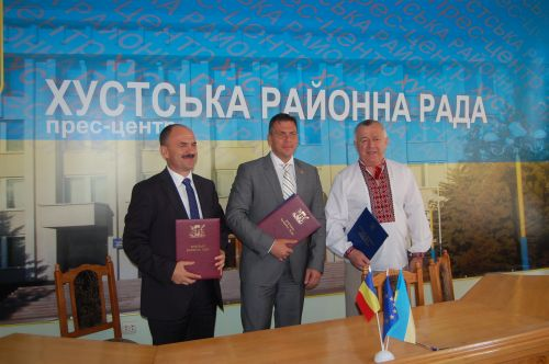 Protocol de înfrăţire între judeţul Satu Mare şi raionul Hust