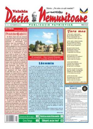 Revista Dacia Nemuritoare, la al XIV-lea număr. Festivalul ,,Adevărul despre daci şi istoria străveche a plaiurilor româneşti''