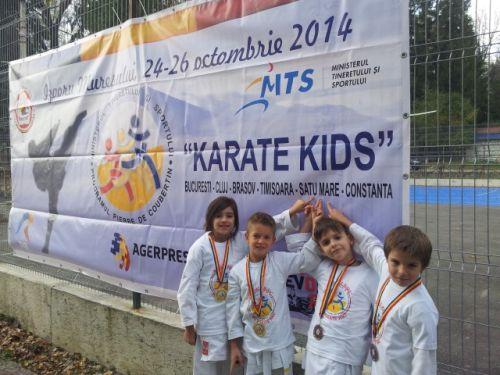 Secția de karate a CSM Satu Mare,crește viitori campioni
