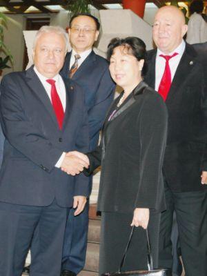 Ambasadorul Chinei în vizită la Satu Mare