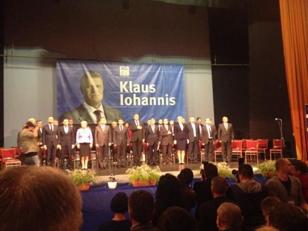 Klaus Iohannis, în mijlocul alegătorilor la Satu Mare