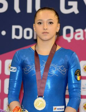Larisa Iordache a câştigat argintul la individual compus