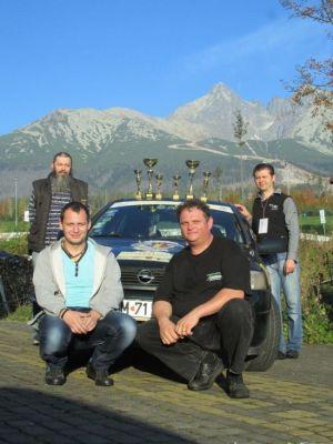 Performanţă extraordinară pentru echipajul sătmărean de raliu ACR-RIDER'S Satu Mare