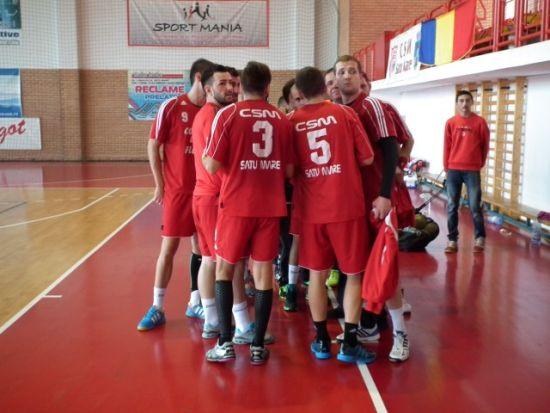 Handbaliştii sătmăreni se impun la Alba Iulia